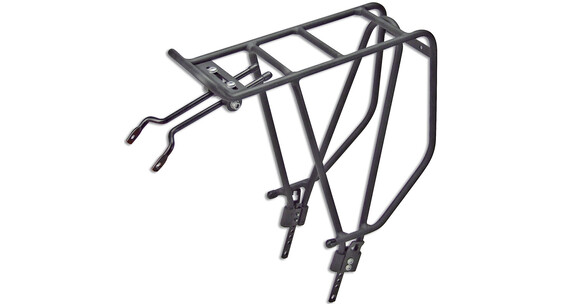 "KlickFix Rackpacker tavarateline 26-28"" , musta"